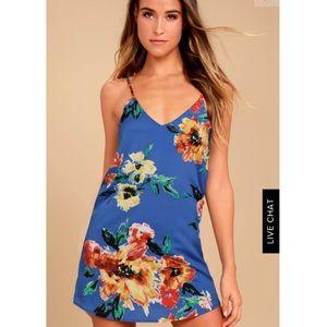 Twin Islands Floral Print Shift Dress